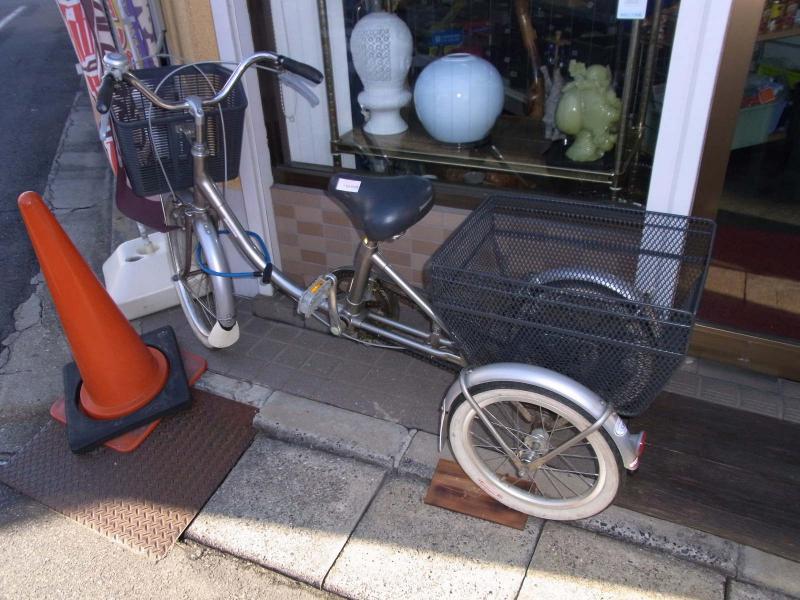 ... 三輪自転車が入荷致しました