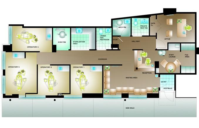 Vv cea caegv for Dental office design 1000 square feet