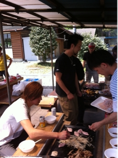 BBQ あげポヨ〜画像
