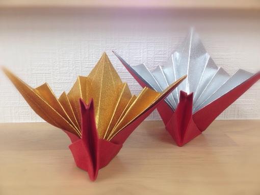 ハート 折り紙:折り紙 祝い鶴-divulgando.net